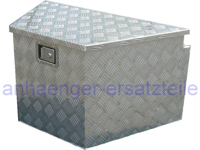hgw alu deichselbox werkzeugkiste staubox f r anh nger ebay. Black Bedroom Furniture Sets. Home Design Ideas