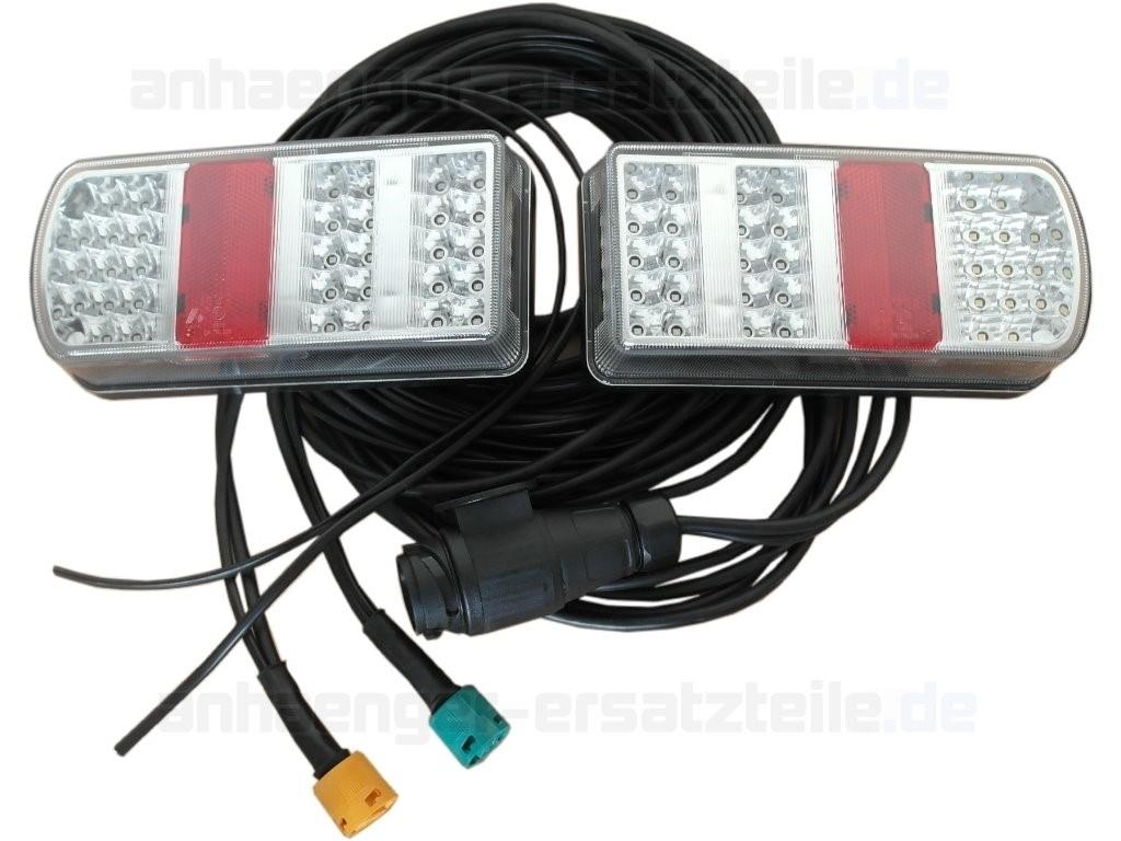 led beleuchtungsset inkl 5m kabelsatz 13 polig mit 3 5m. Black Bedroom Furniture Sets. Home Design Ideas