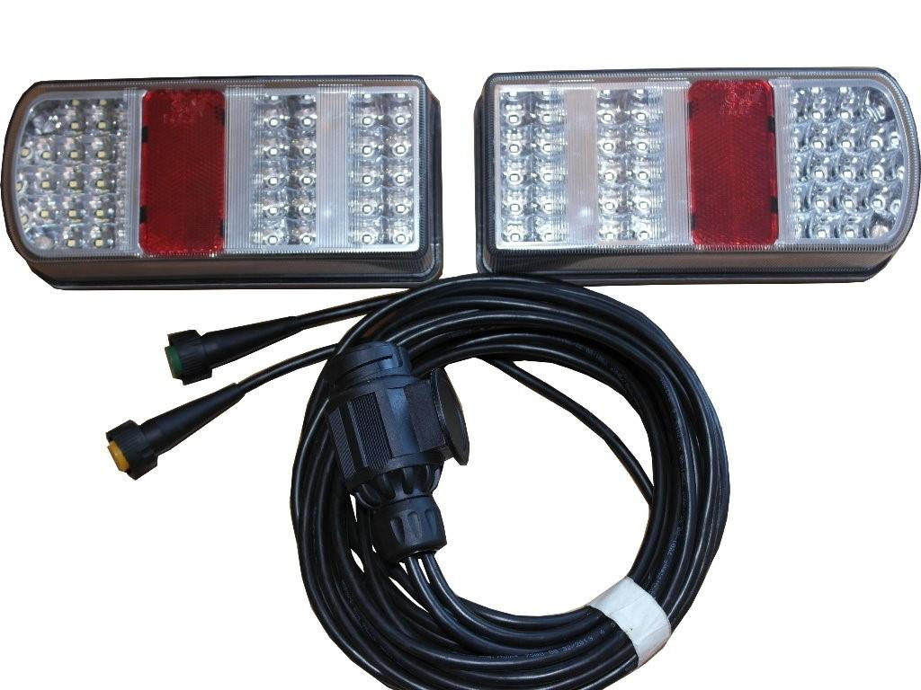 LED-Beleuchtungsset inkl. 5m Kabelbaum 13-polig