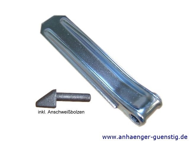 Klappenscharnier 220 mm mit Anschweißbolzen
