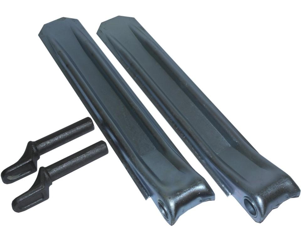2* Klappenscharnier 320 mm mit Anschweißbolzen