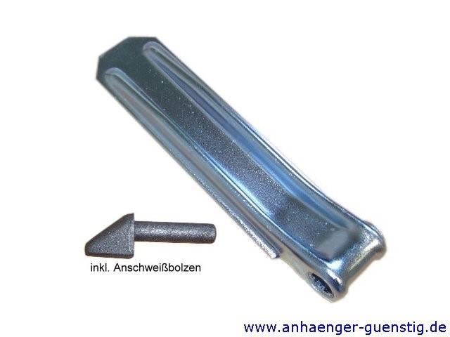 Klappenscharnier 420 mm mit Anschweißbolzen