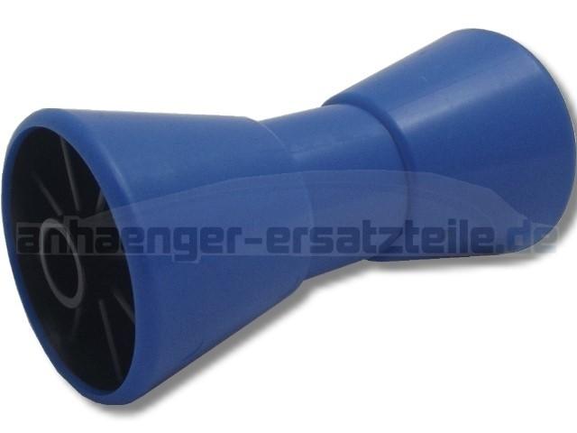Kielrolle 200 mm blau/PE
