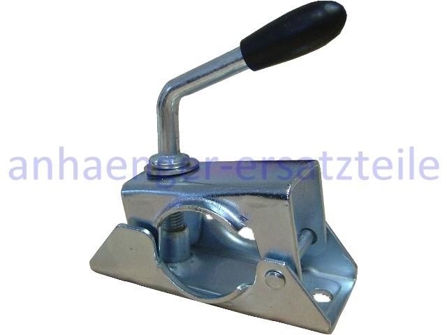 Klemmhalter 48 mm für Stützräder oder Stützen