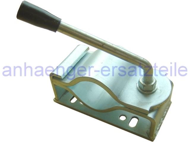 Klemmhalter 60 mm für schwere Stützräder