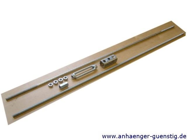 Einachsbremsgestänge M10 - Länge 2000 mm