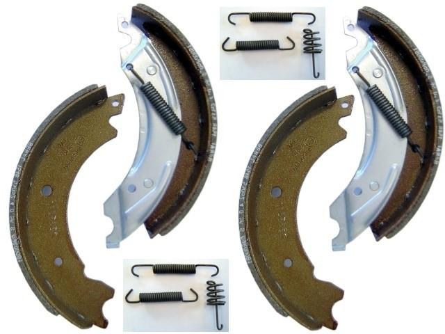 Bremsbacken und Federsatz für Knott 20-2425/1